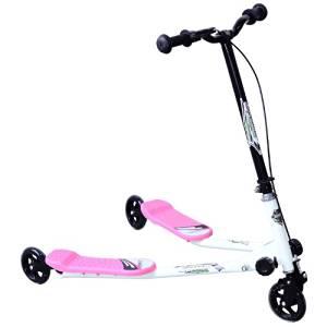 Homcom Children Kids 3 Wheels Foldable Push Speeder Scooter