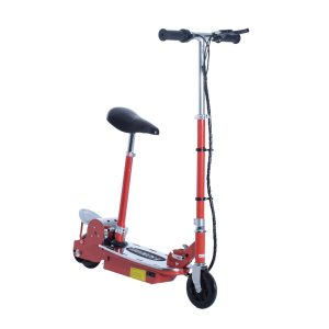 Aosom 120W Teen Folding Electric Scooter with Seat
